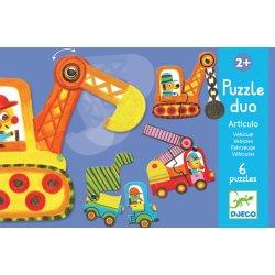 Puzzle duo Articulo véhicule Djeco