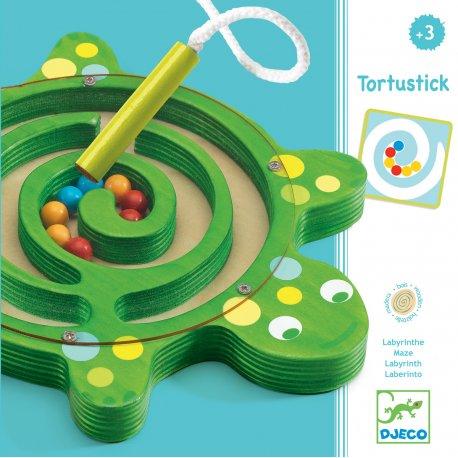 Jeu magnétique Tortustick - Djeco - packaging