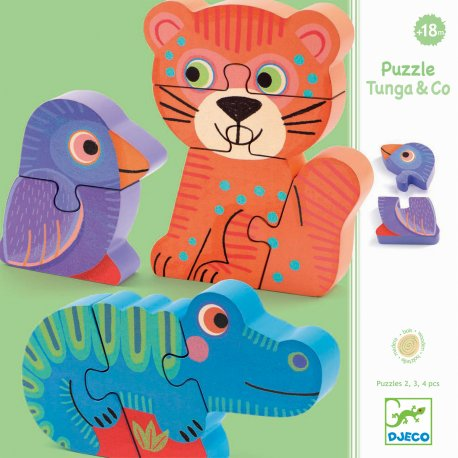 Puzzles évolutifs Tunga & co Djeco