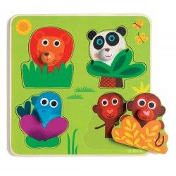 puzzle Junglanimo Djeco