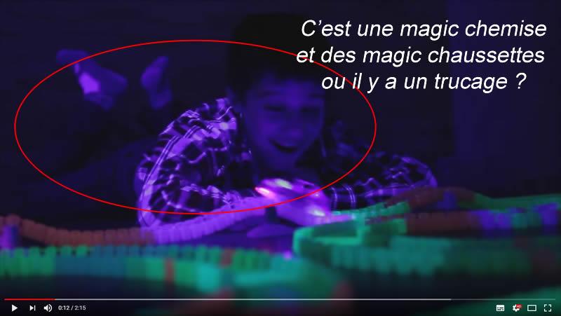 la vérité sur la phosphorescence des magic tracks