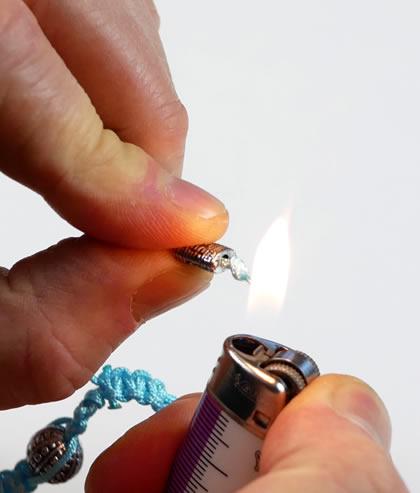 shamballa bruler les bouts des fils