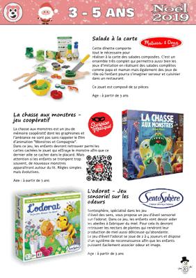 Catalogue jouets noël pour CE