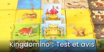 Test et avis sur le jeu de société Kingdomino