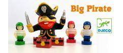 Test du jeu de société Big Pirate (à paritr de 5 ans)