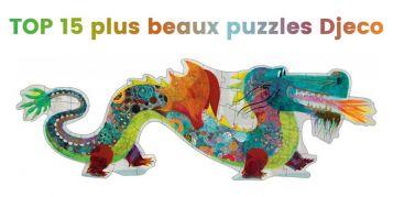 Top 15 des plus beaux puzzles Djeco